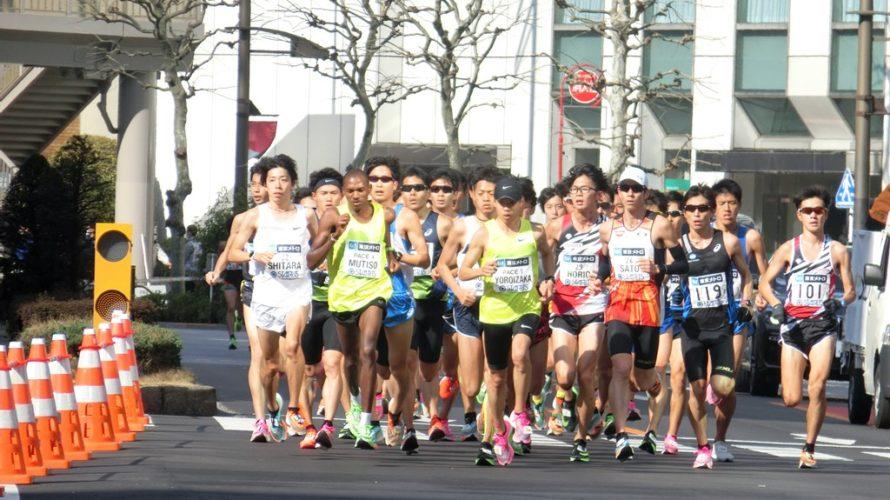 東京マラソンと桜